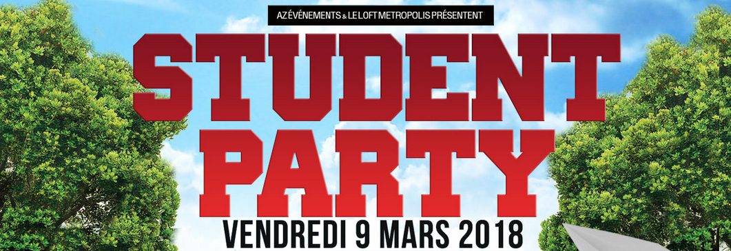 STUDENT PARTY 09.03