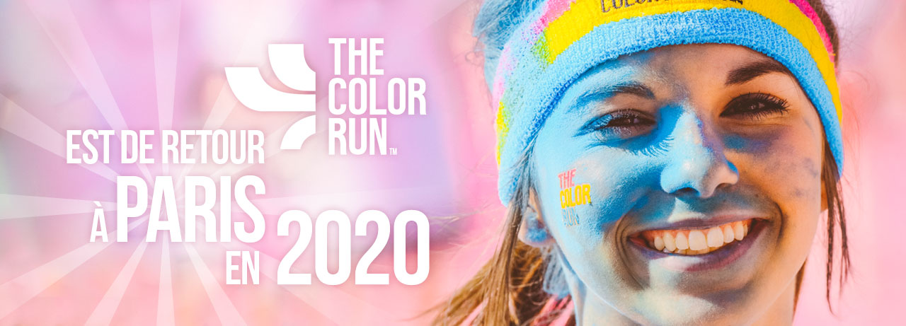 THE COLOR RUN la course LA PLUS COLORÉE DU MONDE est de RETOUR !