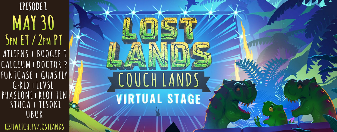 Lost Lands Couch Lands Virtual Stage - Episode 1 - 2020