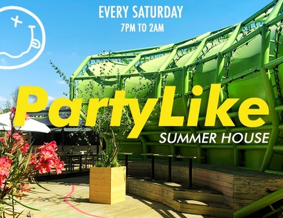 Party Like Summerhouse - OPEN AIR PARTY - 19h / 2h #26.09